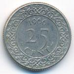 Суринам, 25 центов (1962–1976 г.)