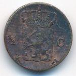 Нидерланды, 1/2 цента (1875 г.)