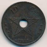 Свободный штат Конго, 10 сентим (1888 г.)