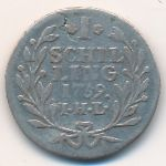 Гамбург, 1 шиллинг (1759 г.)