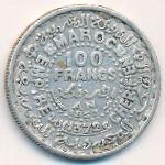 Марокко, 100 франков (1953 г.)