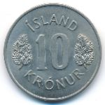 Исландия, 10 крон (1971 г.)
