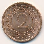 Маврикий, 2 цента (1959–1978 г.)