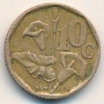 ЮАР, 10 центов (1993 г.)