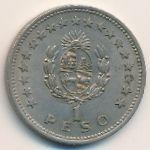 Уругвай, 1 песо (1960 г.)