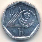 Чехия, 20 гелеров (1996 г.)