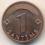 Латвия, 1 сантим (2003 г.)