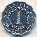 Белиз, 1 цент (2002 г.)