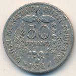 Западная Африка, 50 франков (1978 г.)