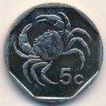 Мальта, 5 центов (2005 г.)