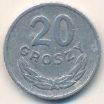 Польша, 20 грошей (1961 г.)