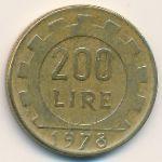 Италия, 200 лир (1978 г.)