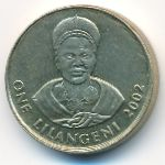 Свазиленд, 1 лилангени (2002–2003 г.)