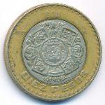 Мексика, 10 песо (1999 г.)