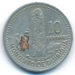 Гватемала, 10 сентаво (1987 г.)