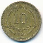 Чили, 10 сентесимо (1966 г.)