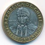 Чили, 100 песо (2014 г.)