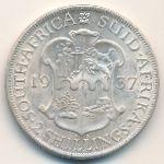 ЮАР, 2 шиллинга (1937 г.)