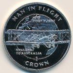 Остров Мэн, 1 крона (1994 г.)