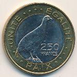 Джибути, 250 франков (2012 г.)