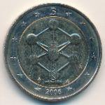 Бельгия, 2 евро (2006 г.)