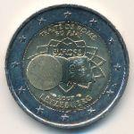 Люксембург, 2 евро (2007 г.)