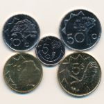 Намибия, Набор монет