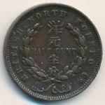 Северное Борнео, 1/2 цента (1891 г.)
