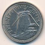 Барбадос, 25 центов (1978 г.)