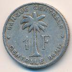 Руанда-Урунди, 1 франк (1957 г.)