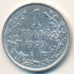Бельгия, 1 франк (1909 г.)