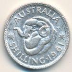 Австралия, 1 шиллинг (1961 г.)
