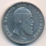 Вюртемберг, 2 марки (1876 г.)