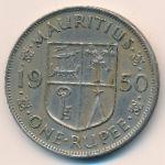 Маврикий, 1 рупия (1950 г.)