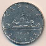 Канада, 1 доллар (1969 г.)