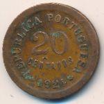 Португалия, 20 сентаво (1924 г.)
