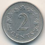 Мальта, 2 цента (1982 г.)
