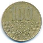 Коста-Рика, 100 колон (1997 г.)