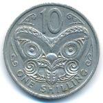 Новая Зеландия, 10 центов (1967–1969 г.)