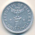 Биафра, 1 шиллинг (1969 г.)
