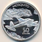 Маршалловы острова, 50 долларов (1991 г.)