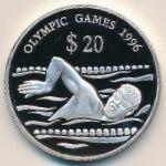 Тувалу, 20 долларов (1994 г.)