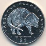 Либерия, 1 доллар (1993 г.)
