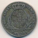 Милан, 1 лира (1787 г.)