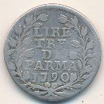 Парма, 3 лиры (1790 г.)