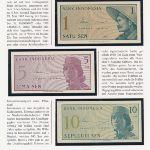 Индонезия, Набор банкнот (1964 г.)
