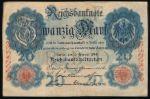 Германия, 20 марок (1914 г.)