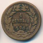 Гондурас, 1 сентаво (1901 г.)