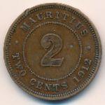 Маврикий, 2 цента (1912–1920 г.)
