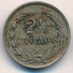Доминиканская республика, 2 1/2 сентаво (1888 г.)